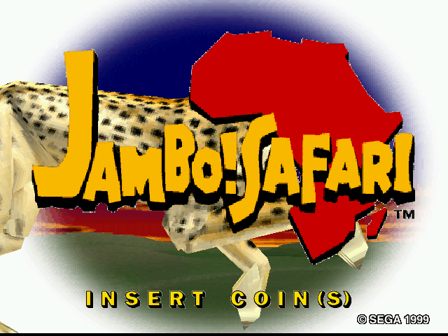 Jambo! Safari (Rev A) Title Screen