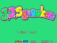 J. J. Squawkers Title Screen