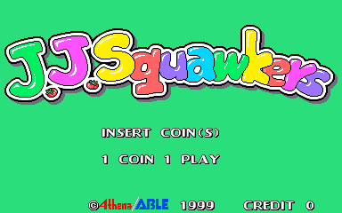J. J. Squawkers (bootleg) Title Screen