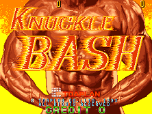 Knuckle Bash Title Screen