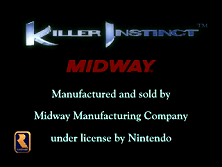 Killer Instinct (v1.5d) Title Screen
