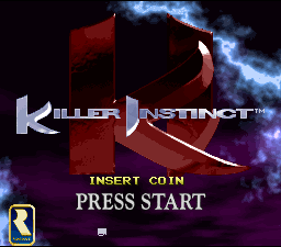 Killer Instinct (SNES bootleg) Title Screen