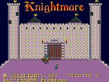 Knightmare (prototype) Title Screen