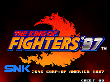 The King of Fighters '97 (Set 1) Title Screen
