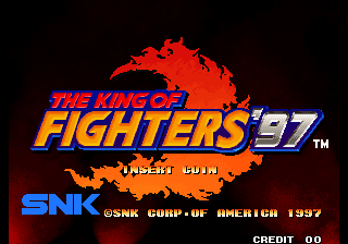 The King of Fighters '97 (NGH-2320) Title Screen