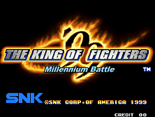 The King of Fighters '99 - Millennium Battle (NGM-2510) Title Screen