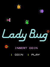Lady Bug Title Screen
