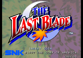 The Last Blade / Bakumatsu Roman - Gekka no Kenshi (NGH-2340) Title Screen