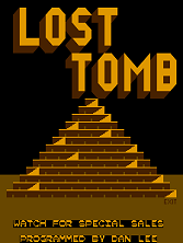 Lost Tomb (easy) Title Screen
