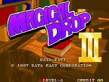 Magical Drop III Title Screen