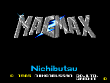Mag Max Title Screen