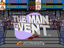 The Main Event (4 Players ver. Y) Title Screen