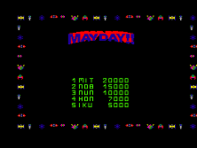Mayday (set 1) Title Screen