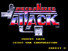 Mechanized Attack (World) Title Screen