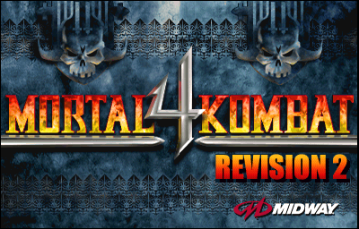 Mortal Kombat 4 (version 2.1) Title Screen