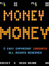 Money Money Title Screen