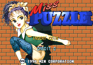 Miss Puzzle (Clone of Gumbo) Title Screen