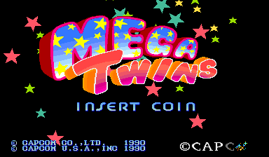 Mega Twins (World 900619) Title Screen