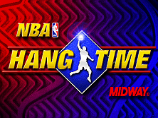 NBA Hangtime (rev L1.1 04/16/96) Title Screen