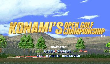 Konamis Open Golf Championship