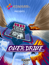 Over Drive (set 1) Title Screen