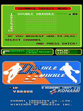 Double Dribble (PlayChoice-10) Title Screen
