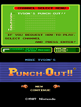 Mike Tyson's Punch-Out!! (PlayChoice-10) Title Screen