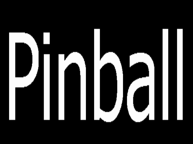 Pinball Champ (7 digits Italian speech) Title Screen