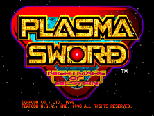 Plasma Sword: Nightmare of Bilstein (USA 980316) Title Screen
