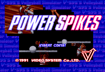 Power Spikes (China) Title Screen