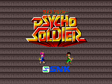 Psycho Soldier (US) Title Screen