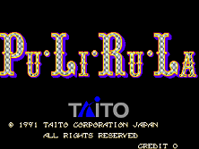 PuLiRuLa (World) Title Screen