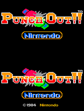 Punch-Out!! (Rev B) Title Screen