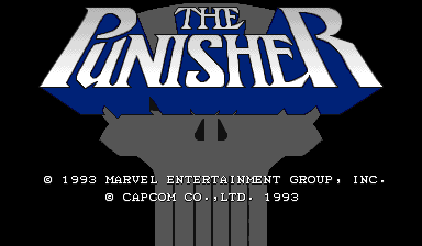 The Punisher (World 930422) Title Screen