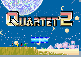 Quartet 2 (unprotected) Title Screen