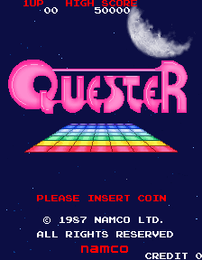 Quester (Japan) Title Screen