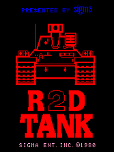 R2D Tank Title Screen