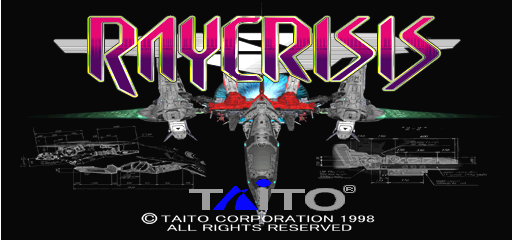 Ray Crisis (V2.03J 1998/11/15 15:43) Title Screen