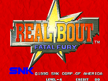 Real Bout Fatal Fury / Real Bout Garou Densetsu Title Screen
