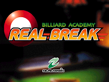 Billiard Academy Real Break (Europe) Title Screen