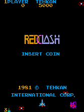Red Clash (set 1) Title Screen