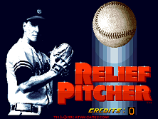 Relief Pitcher (set 1, 07 Jun 1992 / 28 May 1992) Title Screen