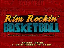 Rim Rockin' Basketball (V2.2) Title Screen