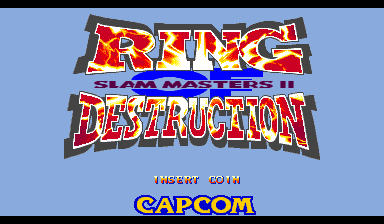 Ring of Destruction: Slammasters II (Euro 940902 Phoenix Edition) (bootleg) Title Screen