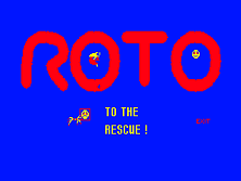 The Adventures of Robby Roto! Title Screen