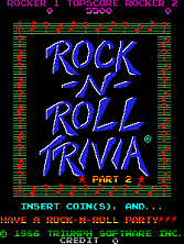 MTV Rock-N-Roll Trivia (Part 2) Title Screen