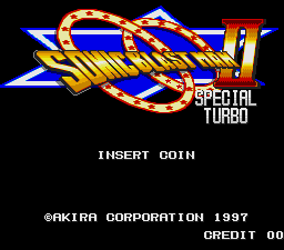 Sonic Blast Man 2 Special Turbo (SNES bootleg) Title Screen