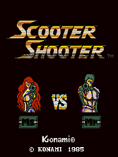 Scooter Shooter Title Screen