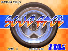 Scud Race Twin (Australia) Title Screen