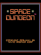 Space Dungeon Title Screen